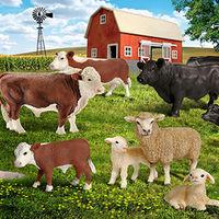 Животные с фермы, серия производителя Schleich-S